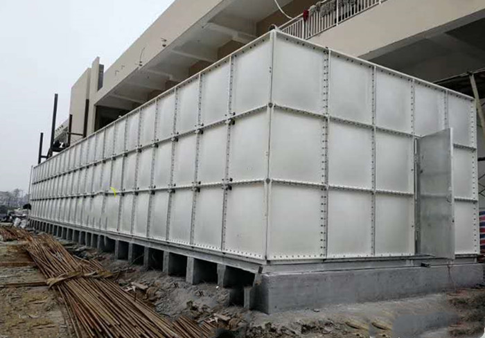 装配式搪瓷钢板水箱_玻璃钢消防水箱-德州腾翔装配式搪瓷钢板水箱公司